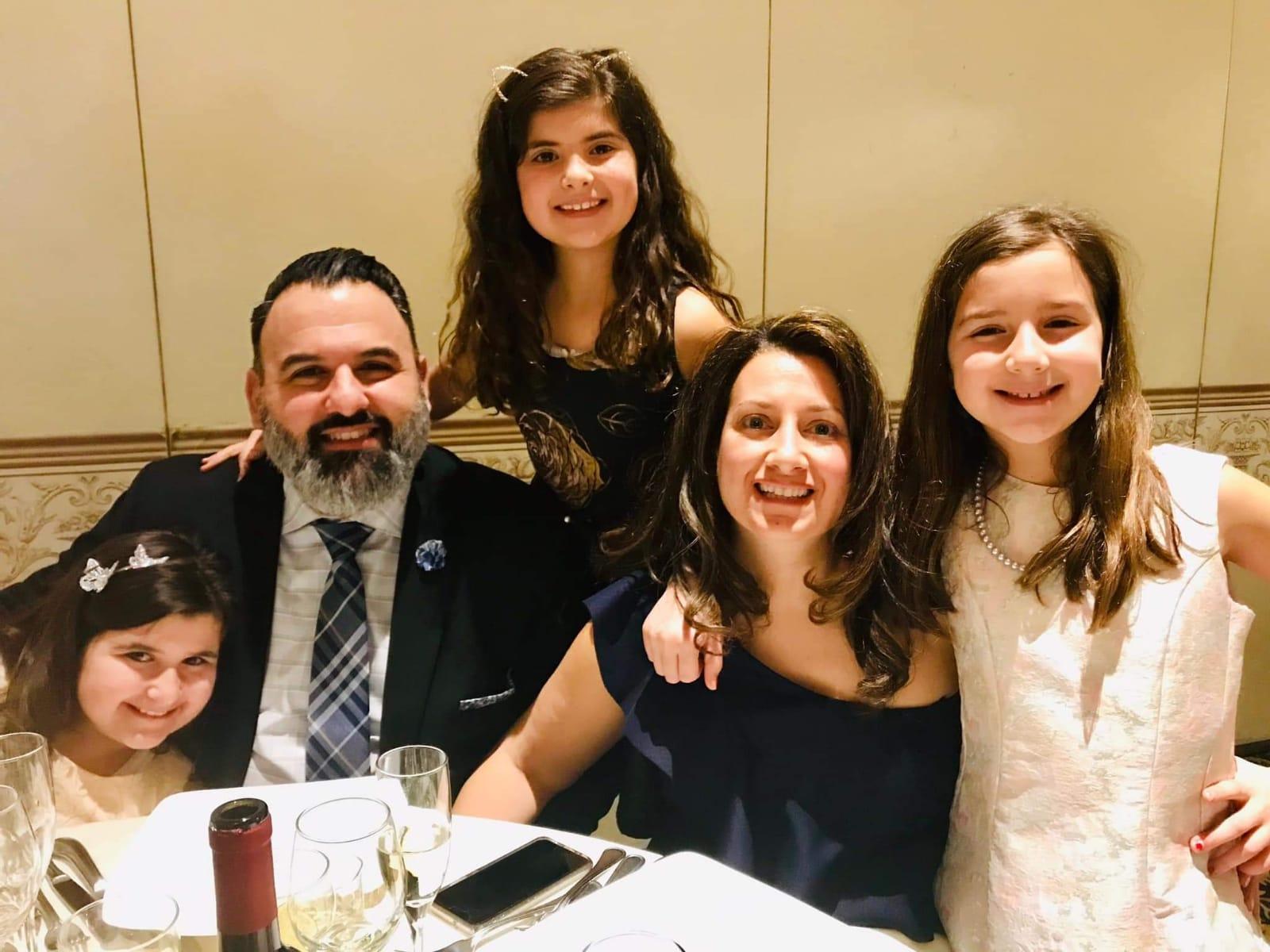 Frank de lio & family